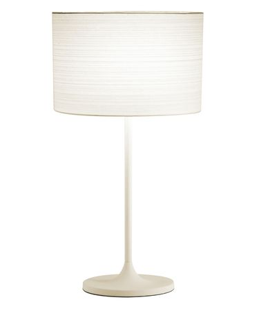 Shown in White finish and White shade