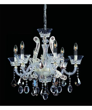 Shown in Sterling finish and Firenze Mixed crystal