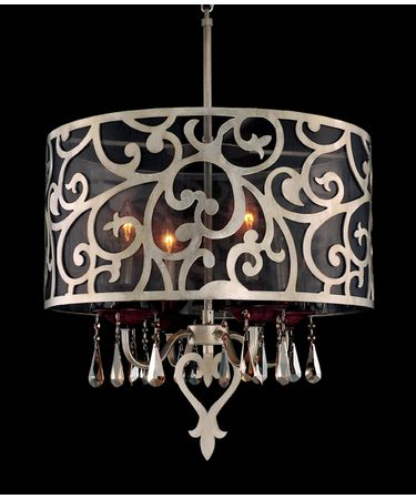 Shown in Aged Silver finish and Firenze Fleet Gold crystal