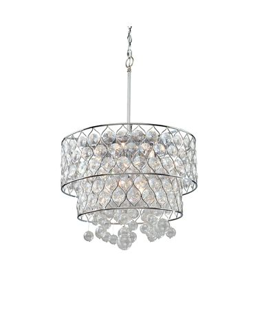 Shown in Chrome finish and Circular crystal