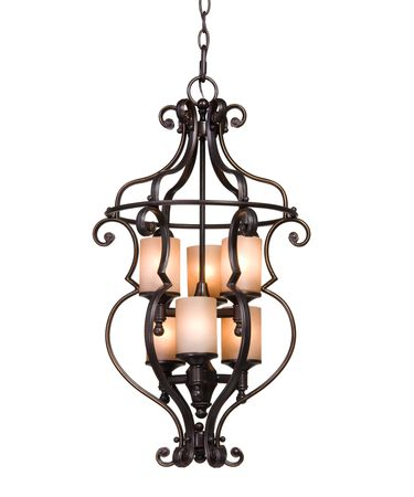 Shown in Dark Hand Oil Rubbed Bronze finish, Distressed Soft Amber glass and Glass Jewels accent