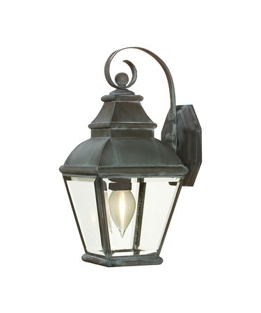 Shown in Charcoal finish and Clear Bevel glass
