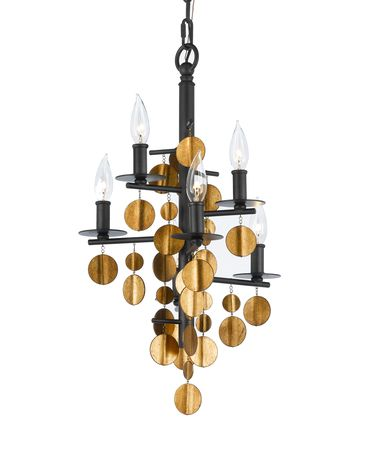Shown in Oil Rubbed Bronze and Venetian Gold finish
