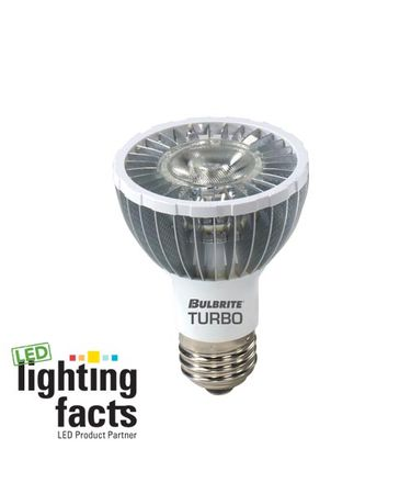 Bulbrite LED8PAR20WW-E 8 Watt 120 Volt 20000 Hour PAR20 LED Bulb