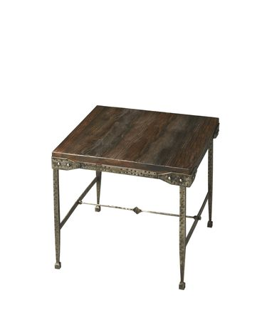 Shown in Acacia Solid Wood And Iron finish