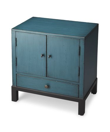 Shown in Distressed Blue finish