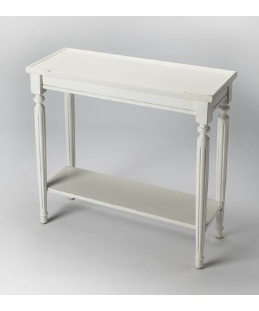 Shown in Cottage White finish