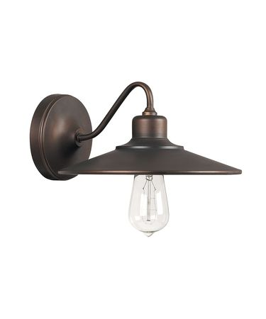 Shown in Burnished Bronze finish and Burnished Bronze shade
