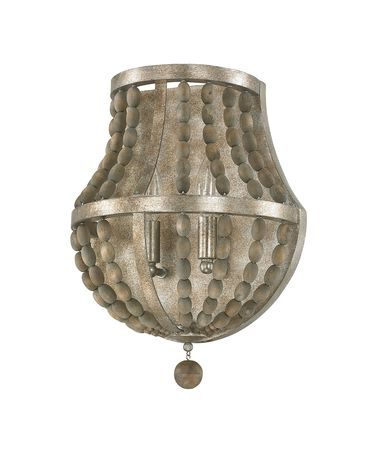 Shown in Tuscan Bronze with Wood Beads finish