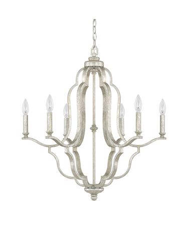 Shown in Antique Silver finish and No Shade shade