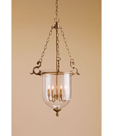 Shown in Antique Brass-Seeded Glass finish