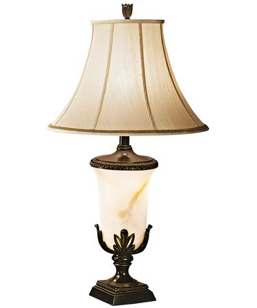 Shown in Bronze Florida finish and Bell - Beige - Faux Silk shade