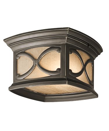 Shown in Olde Bronze finish and Light Umber Seedy glass