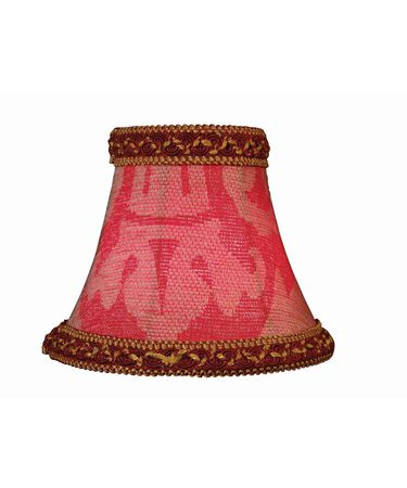 Shown with  and Red Jacquard shade