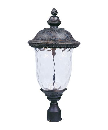 Shown in Oriental Bronze finish and Water glass