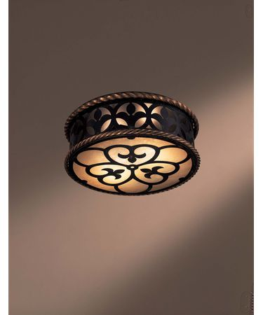 Shown in French Black finish and Double French Scavo glass