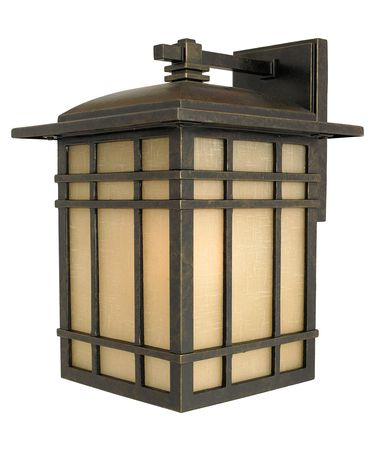 Shown in Imperial Bronze finish and Linen glass