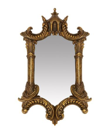 Sterling Industries 26-5353M Gold Plume Wall Mirror