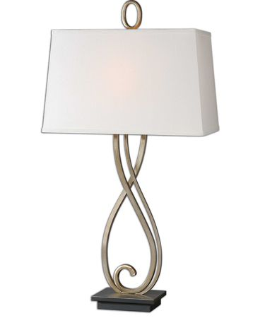 Shown in Lightly Antiqued Silver-Champagne finish