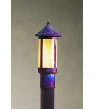 Arroyo Craftsman BP-7L Berkeley 1 Light Outdoor Post Lamp