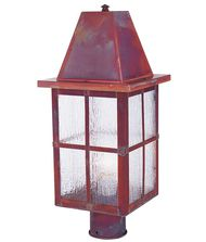 Arroyo Craftsman HP-6 Hartford 1 Light Outdoor Post Lamp
