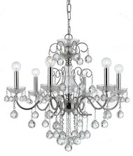 Crystorama 3326 Imperial 24 Inch Chandelier