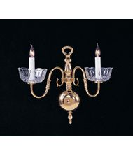 Crystorama 4202 Colonial  17 Inch Wall Sconce