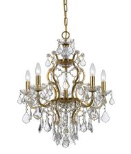 Crystorama 4455 Filmore 23 Inch Mini Chandelier
