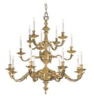 Crystorama 450 Colonial 36 Inch Chandelier