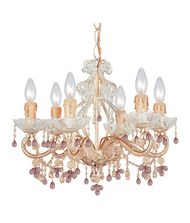Crystorama 4507 Paris Flea Market 18 Inch Chandelier