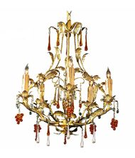 Crystorama 4605 Ritz 18 Inch Mini Chandelier