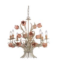 Crystorama 4808 Southport 24 Inch Chandelier