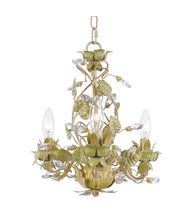 Crystorama 4843 Josie 14 Inch Mini Chandelier