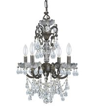 Crystorama 5194 Legacy 17 Inch Mini Chandelier