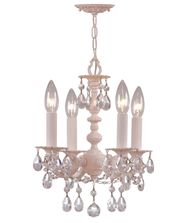 Crystorama 5514 Paris Flea 11 Inch Mini Chandelier