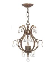 Crystorama 5560 Dawson 16 Inch Mini Chandelier