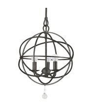 Crystorama 9225 Solaris  12 Inch Mini Chandelier