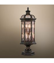 Fine Art Lamps 414483 Devonshire 4 Light Outdoor Pier Lamp