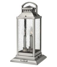 Hinkley Lighting 1187 Revere 3 Light Outdoor Pier Lamp