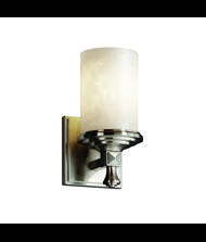 Justice Design Group CLD-8531 Clouds Deco 4 Inch Wall Sconce