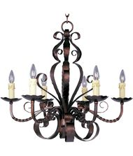Maxim Lighting 20612 Aspen 29 Inch Chandelier