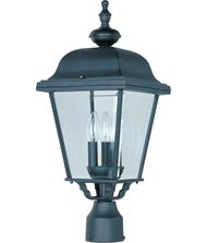 Maxim Lighting 3008 Builder Cast  3 Light Outdoor Post Lamp