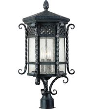 Maxim Lighting Scottsdale 3 Light Outdoor Post Lamp