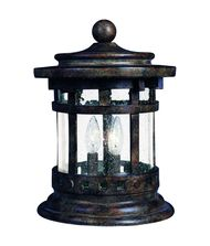 Maxim Lighting 3132 Santa Barbara 3 Light Outdoor Pier Lamp