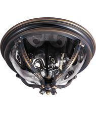 Maxim Lighting 41420 Camden VX 3 Light Outdoor Flush Mount