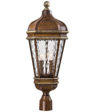 Minka Lavery 8796 Marietta 3 Light Outdoor Post Lamp