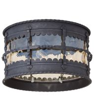 Minka Lavery 8889-A Mallorca 3 Light Outdoor Flush Mount