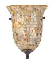 Quoizel MY8801 Monterey Mosaic 9 Inch Wall Sconce