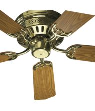custom hugger 42 inch 5 blade flush mount fan
