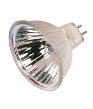 Satco S2623 50 Watt 12 Volt MR16 Bi Pin Hard Coated Dichroic Reflector Halogen Bulb